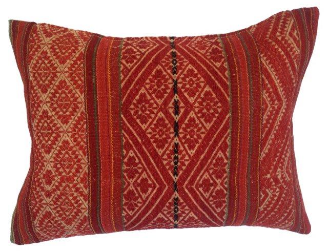 Nomadic  Tribal  Textile Pillow