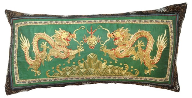 Metallic Dragon     Pillow