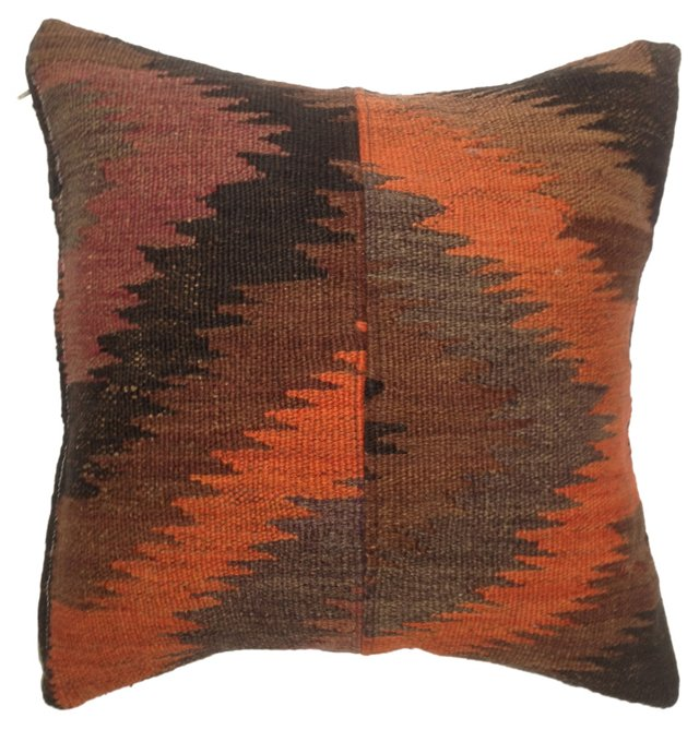 Turkish Kilim  Fragment  Pillow