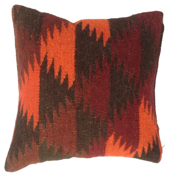 Pillow w/ Turkish Kilim   Fragment