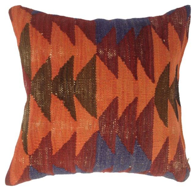 Pillow    w/ Kilim  Fragment