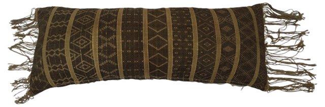Tribal Woven Lumbar  Pillow