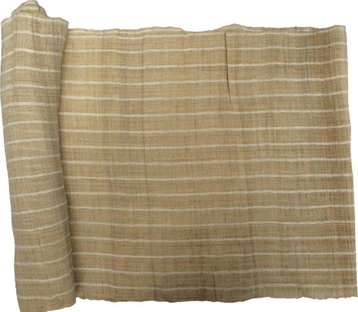 Striped Hmong Linen, 5.9 Yds