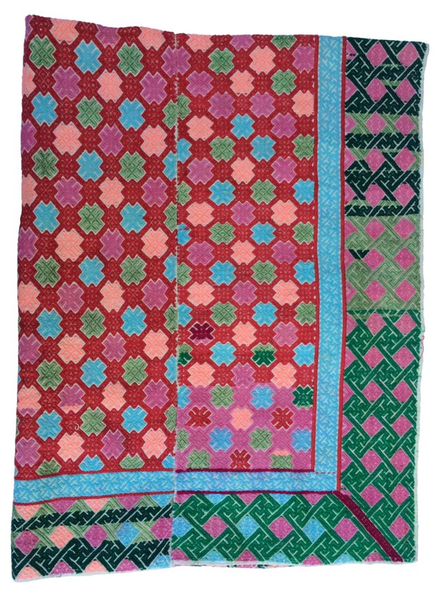 Hill Tribe    Marriage  Quilt