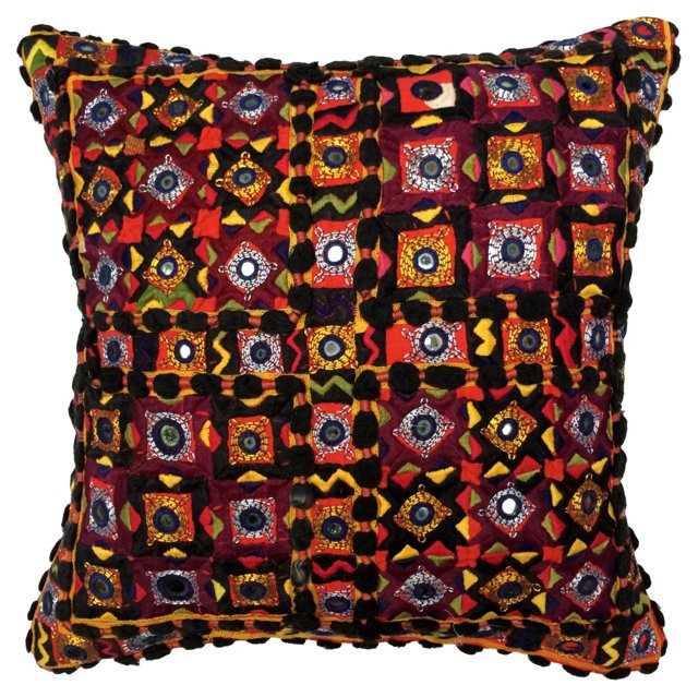 Indian Gypsy Dowry Bag Pillow
