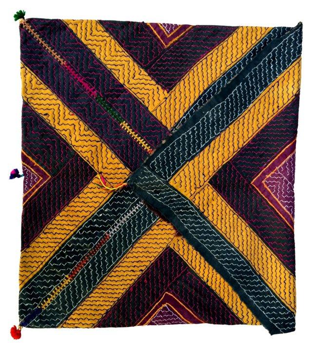 Banjara Indian Gypsy Tribal Bag Textile
