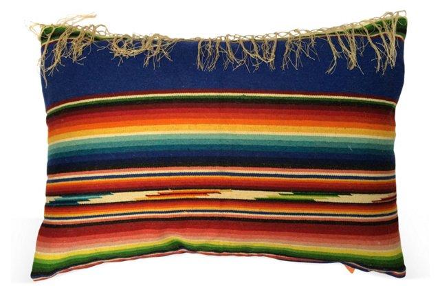 Santa Fe Serape Blanket Pillow