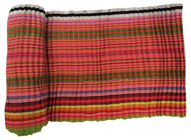 Striped Homespun Linen, 4.3 Yds