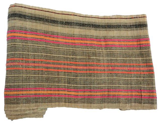 Striped Linen, 5.4 Yds