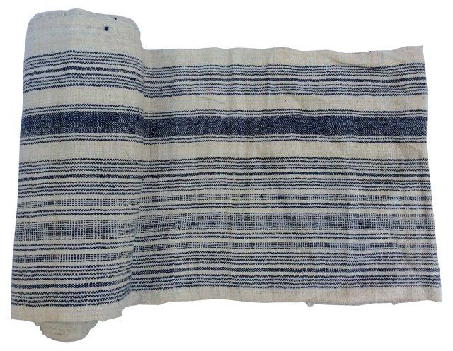 Striped Linen, 7.9 Yds