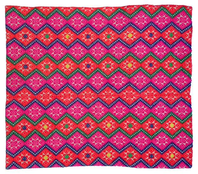 Bright   Tribal Marriage     Quilt