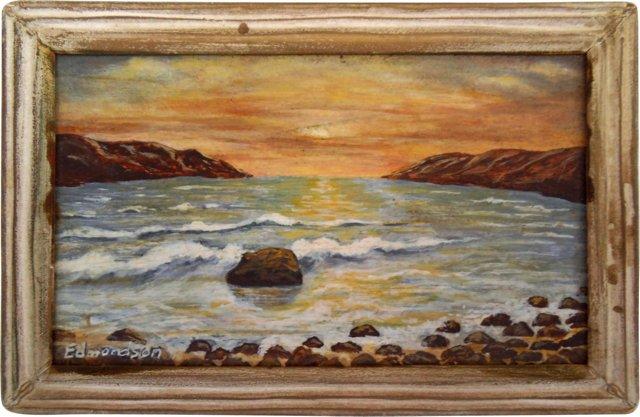 Seascape by William Edmondson