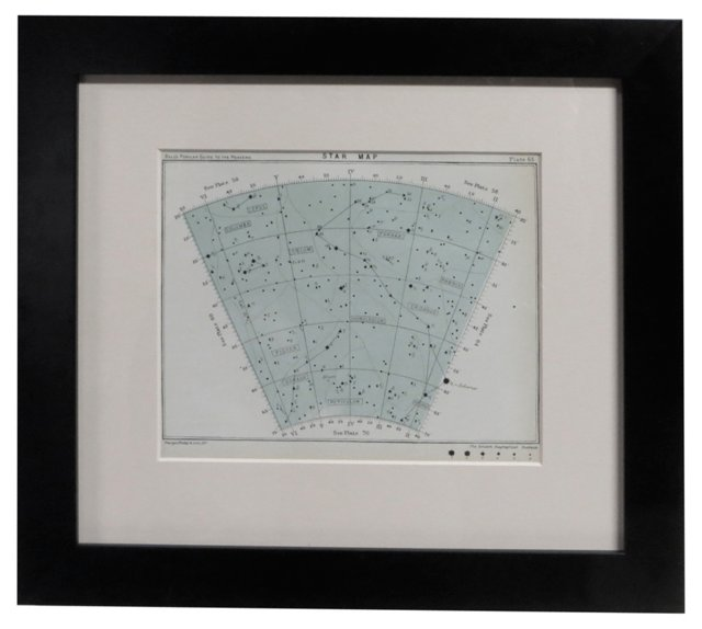 Early-20th-C.                 Star Map