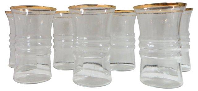 Gold-Rimmed Glasses, S/8