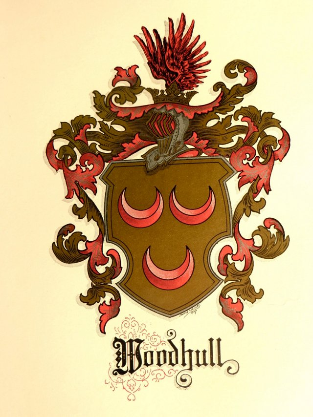 Woodhull Family Crest