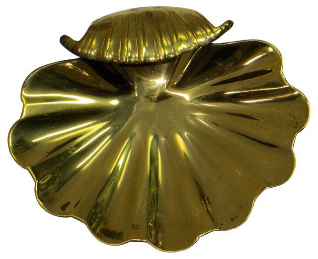 Brass Shell   Tray