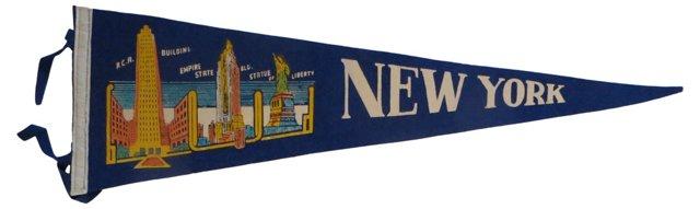New York Tourist    Pennant