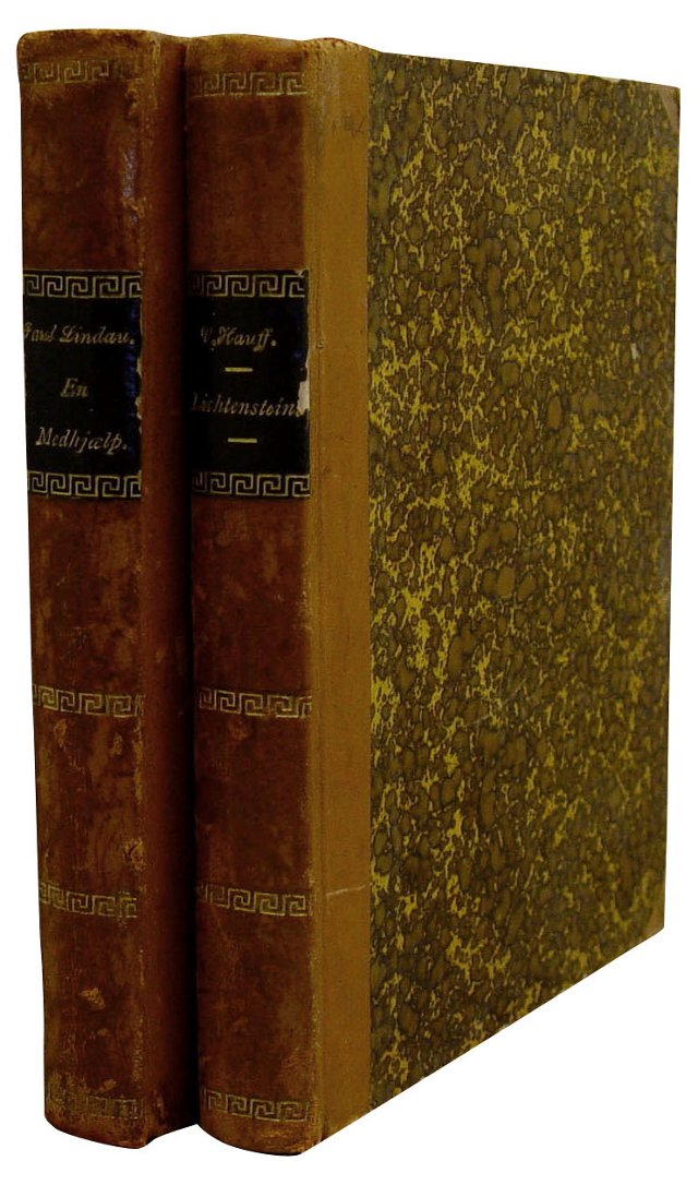 Danish Leather Novels, 2 Vols