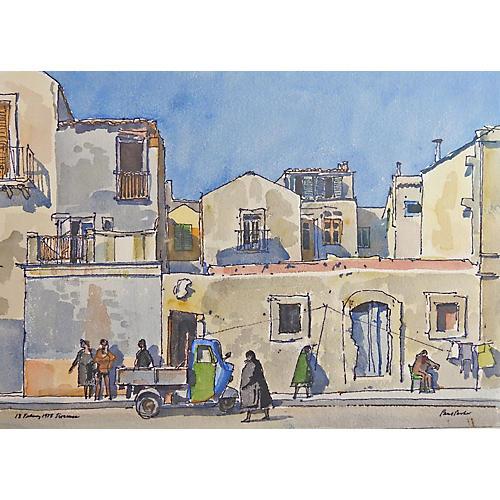 Syracuse, Sicily by Paul Parker