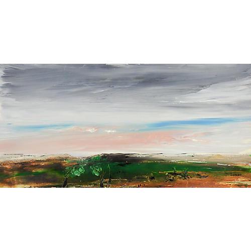 Sunset Landscape by G. Turner