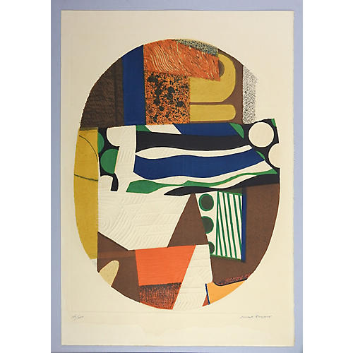Abstract by Max Papart, C.1970