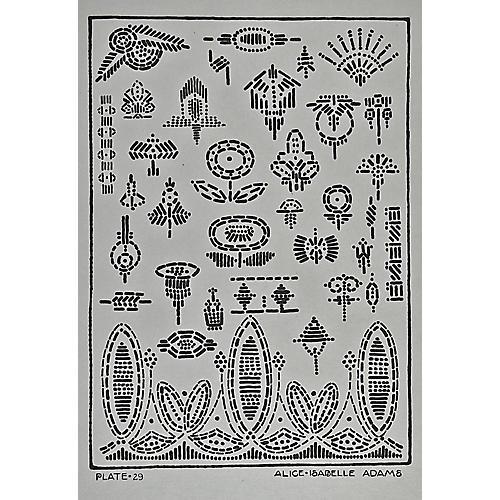 Textile Design by Alice Isabelle, C.1920
