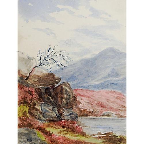 Scottish Highlands, C. 1890