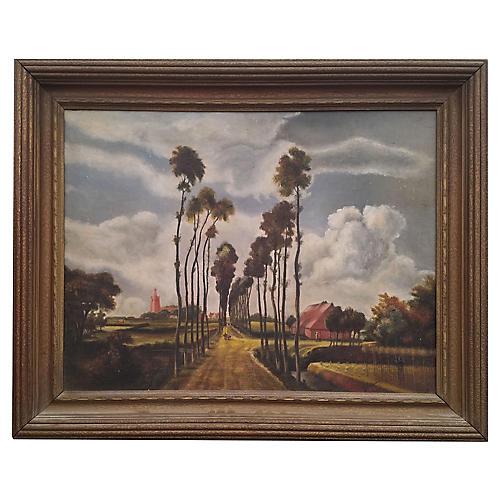 Version of Old Master Landscape, C. 1930