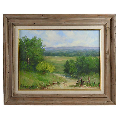 Texas Landscape by Hazel Massey