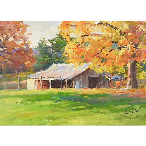 Plein Air Landscape by Marlin Linville