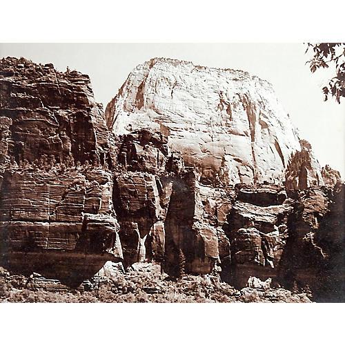Great White Throne Mt. Zion Nat. Park