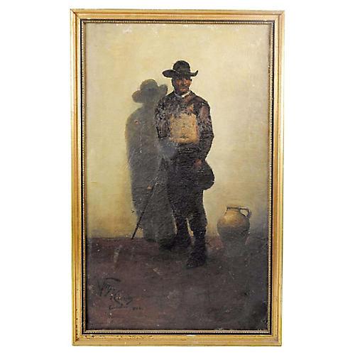 Continental Portrait of Gentleman
