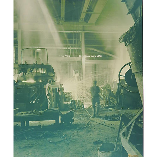 Industrial Steel Foundry Photograph