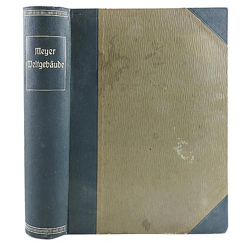 1908 German Astronomy Book
