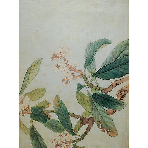 Hand-Colored Japanese Woodblock