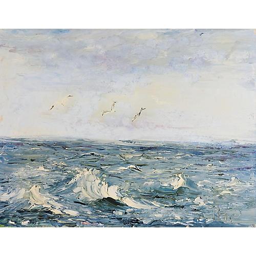 Impressionist Seascape