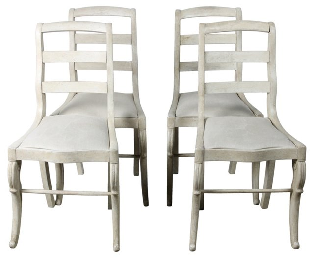 19th-C.   European Chairs, S/4