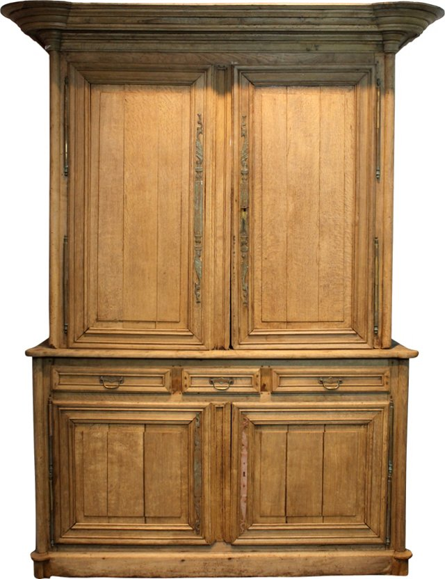 Early-19th-C.    European  Cabinet