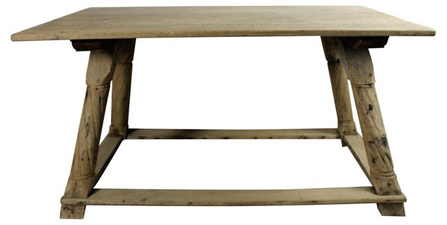 19th-C.  Spanish Table