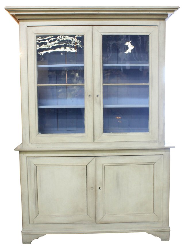 19th-C. Swedish Armoire