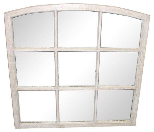 Plantation Windowpane Mirror