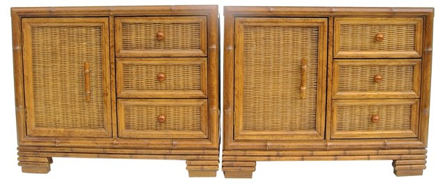 American of Martinsville Chests, Pair