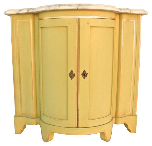 Continental-Style Baker Credenza