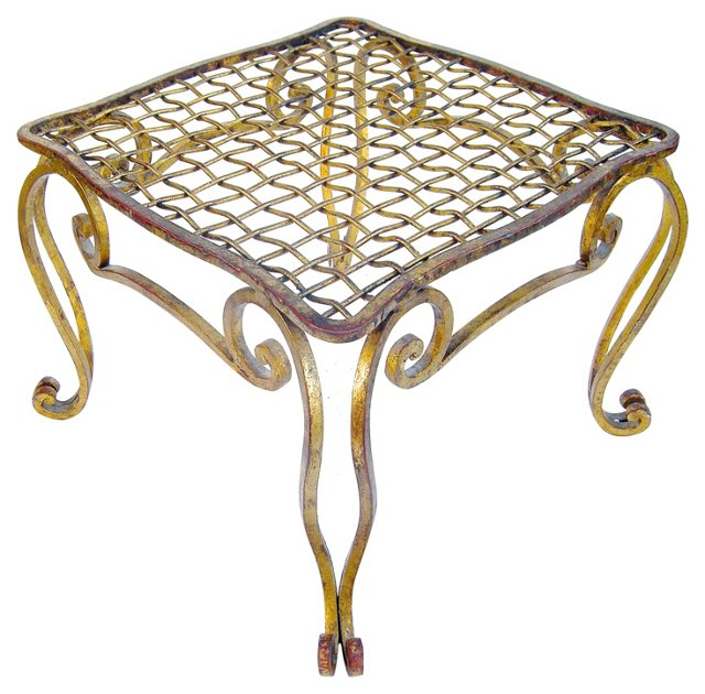 Italian Gilt-Metal Table