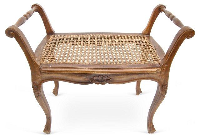 Louis XV-Style Vanity Bench