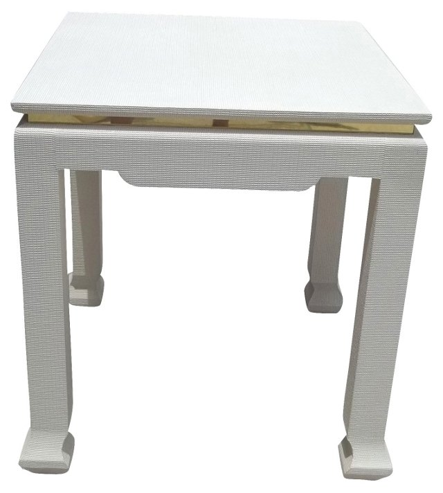 Karl Springer-Style Wrapped Table