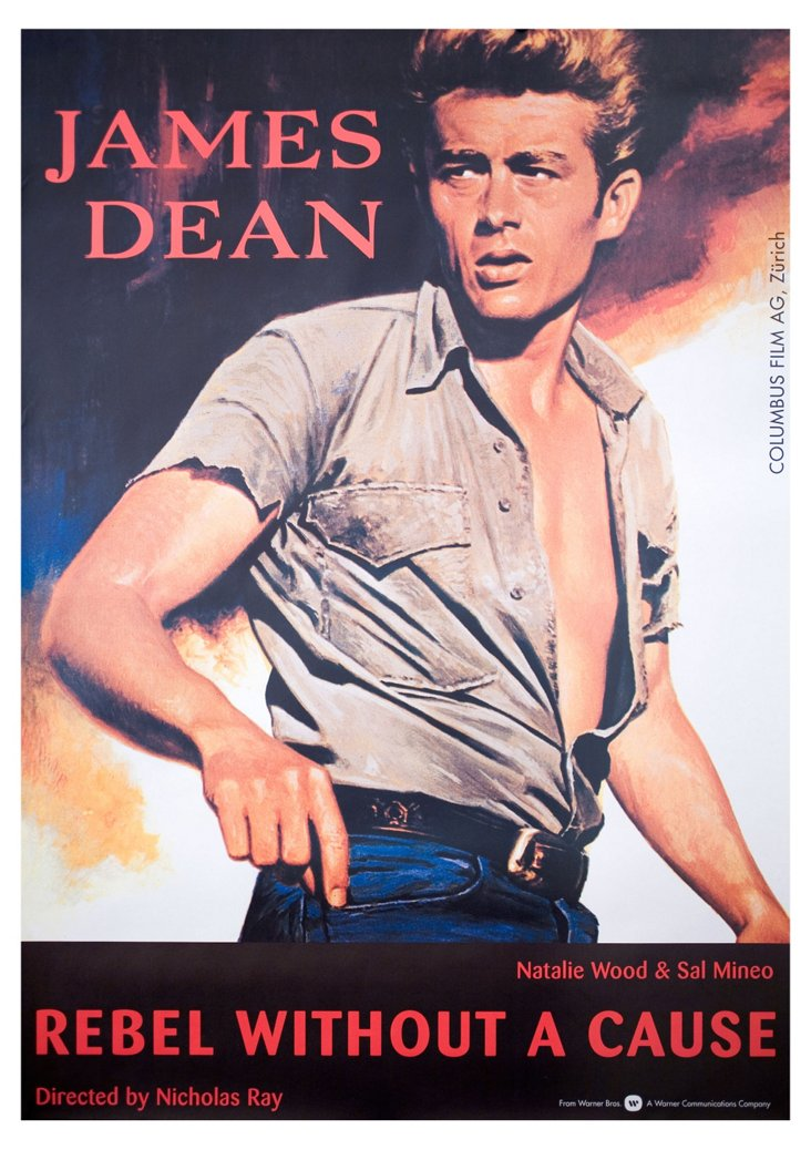 Swiss Rebel Without A Cause Poster