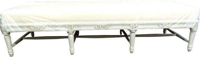 Swedish Gustavian-Style  Bench