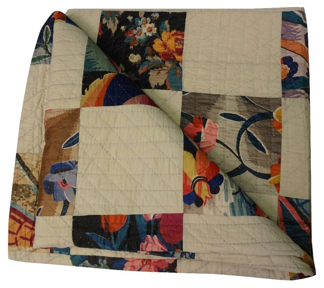 One Patch Deco Quilt