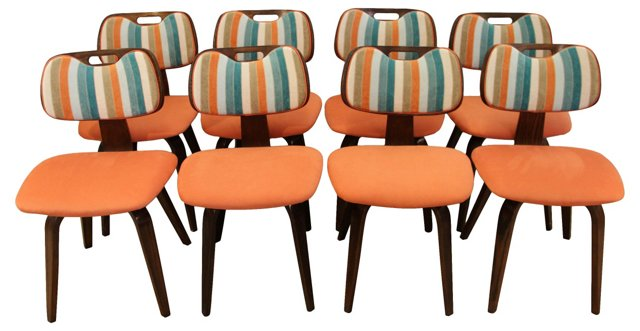 Thonet Dining Chairs, S/8